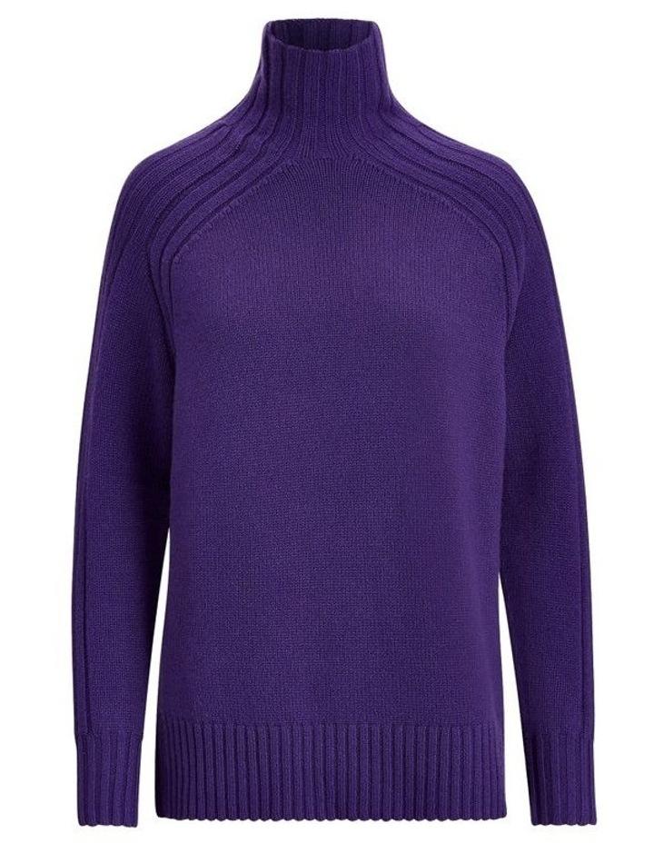 Ribbed Turtleneck Sweater image 4