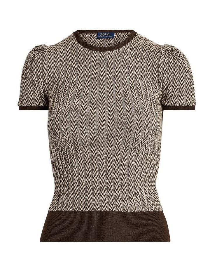 Wool Short-Sleeve Sweater image 4
