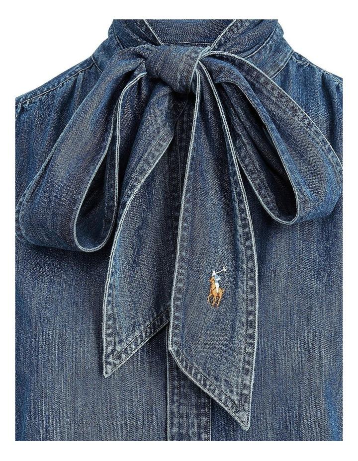 Necktie Denim Shirt image 5