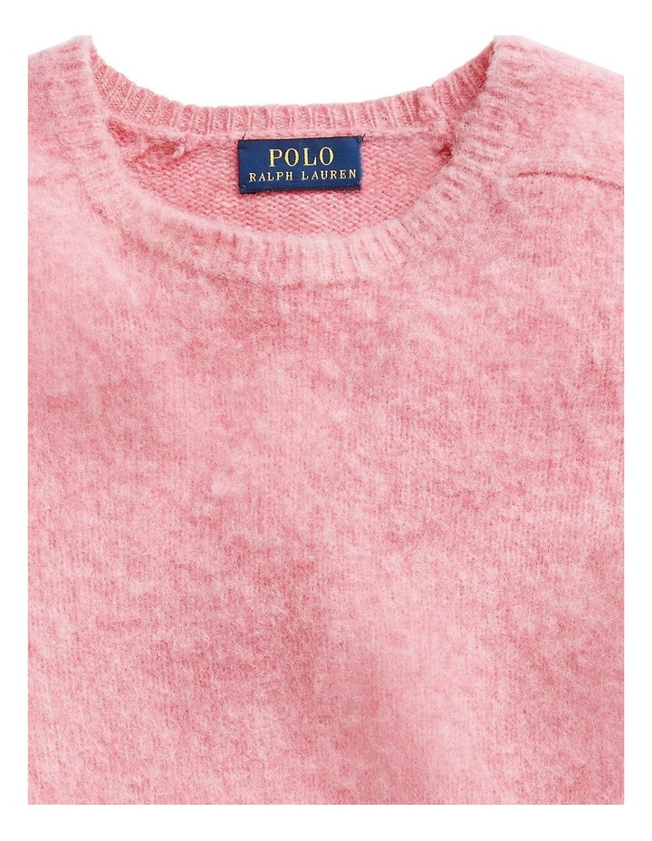 Wool Long-Sleeve Sweater image 5