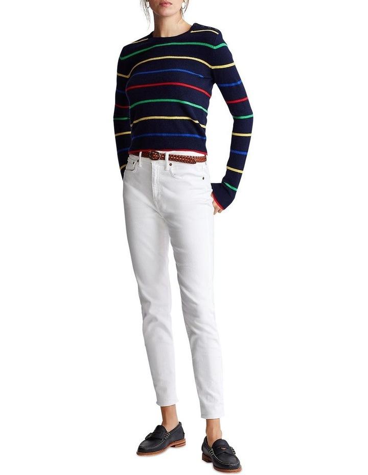 Striped Cashmere Sweater image 3