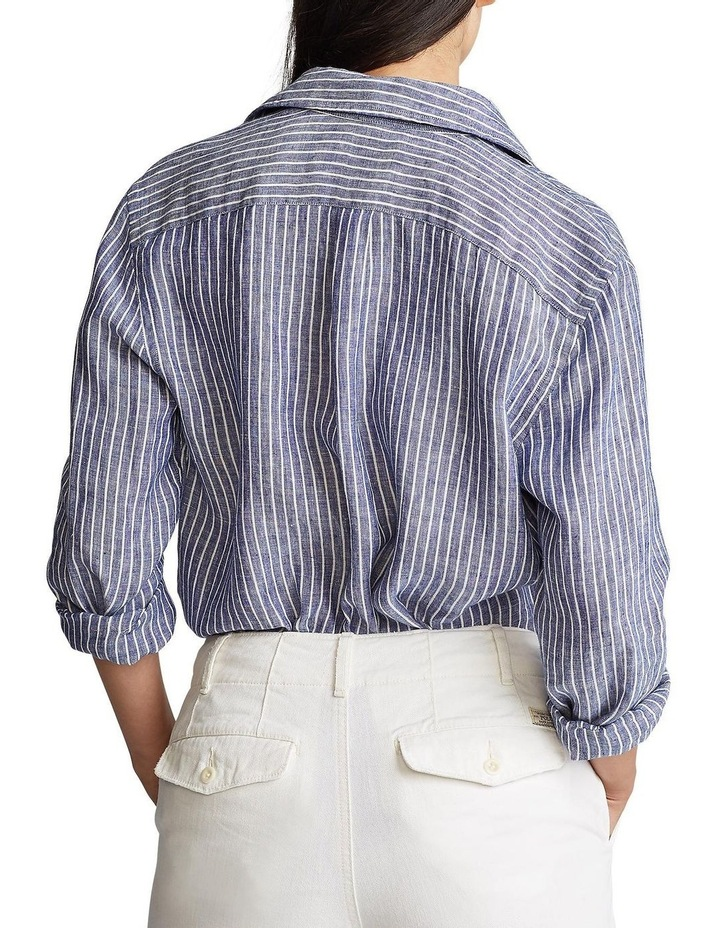 Relaxed Fit Linen Shirt image 2