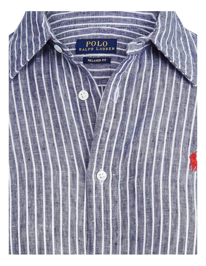 Relaxed Fit Linen Shirt image 5