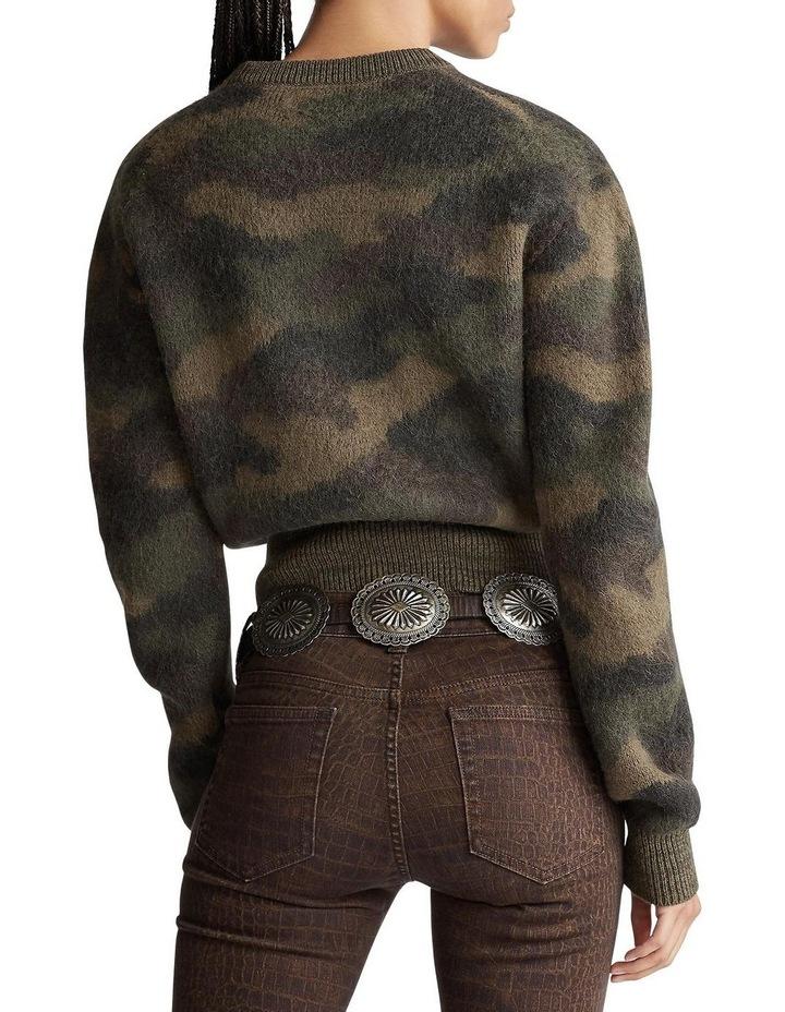 Camo-Print Wool Sweater image 2
