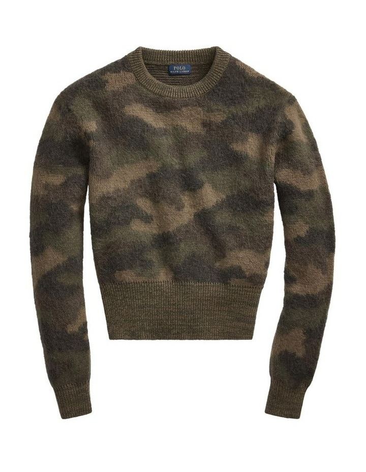 Camo-Print Wool Sweater image 4