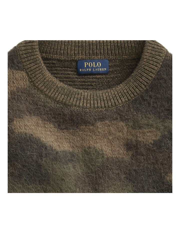 Camo-Print Wool Sweater image 5