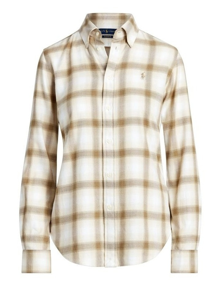 Flannel Button-Down Shirt image 4