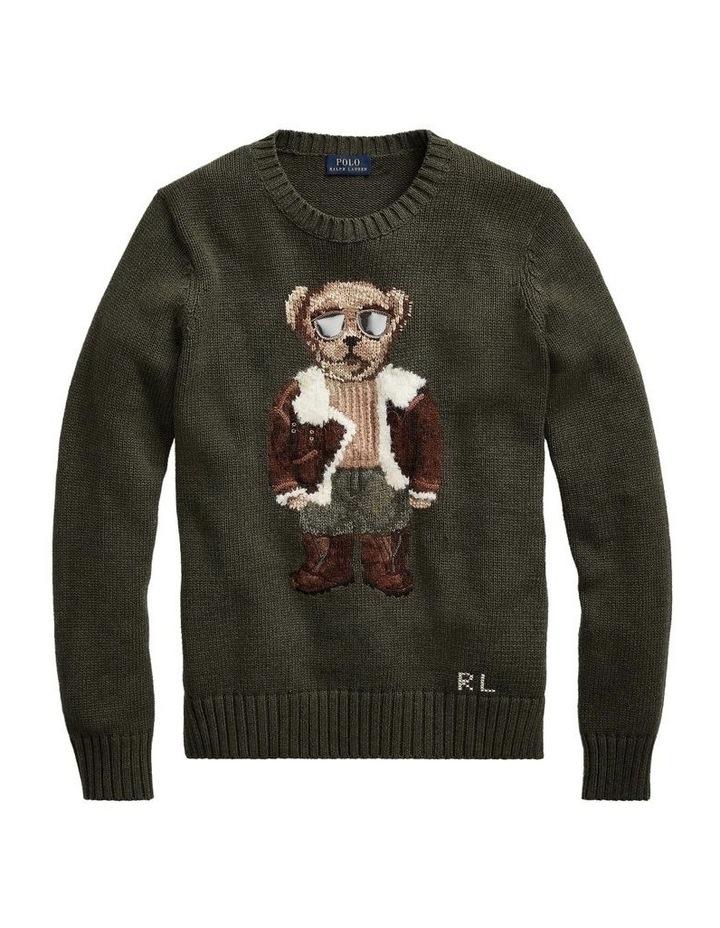 Aviator Polo Bear Sweater image 3