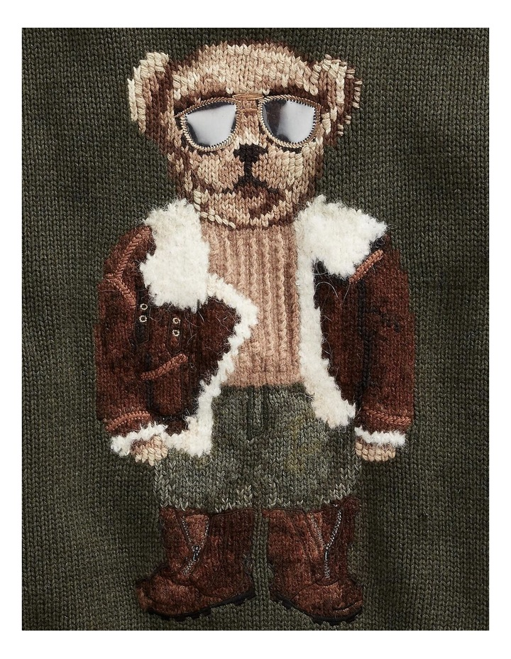 Aviator Polo Bear Sweater image 4