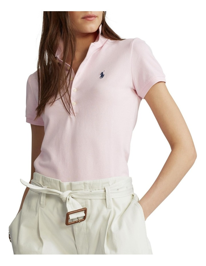 Slim Fit Stretch Polo Shirt image 1