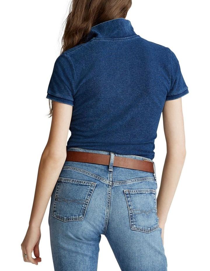 Skinny Fit Big Pony Polo Shirt image 2