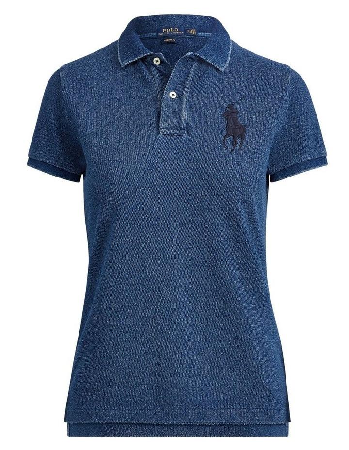 Skinny Fit Big Pony Polo Shirt image 4