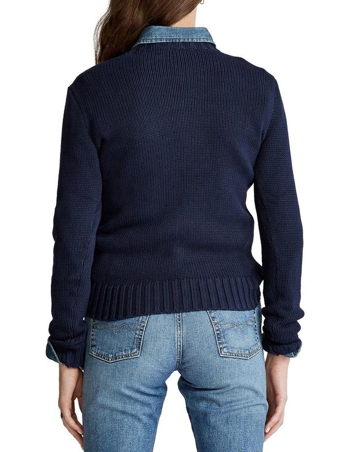 Flag Cotton Crewneck Sweater image 2