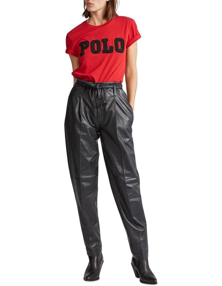 Big Fit Beaded Polo Tee image 3