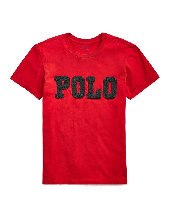 Big Fit Beaded Polo Tee image 4