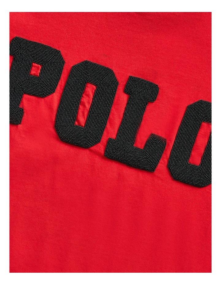 Big Fit Beaded Polo Tee image 5