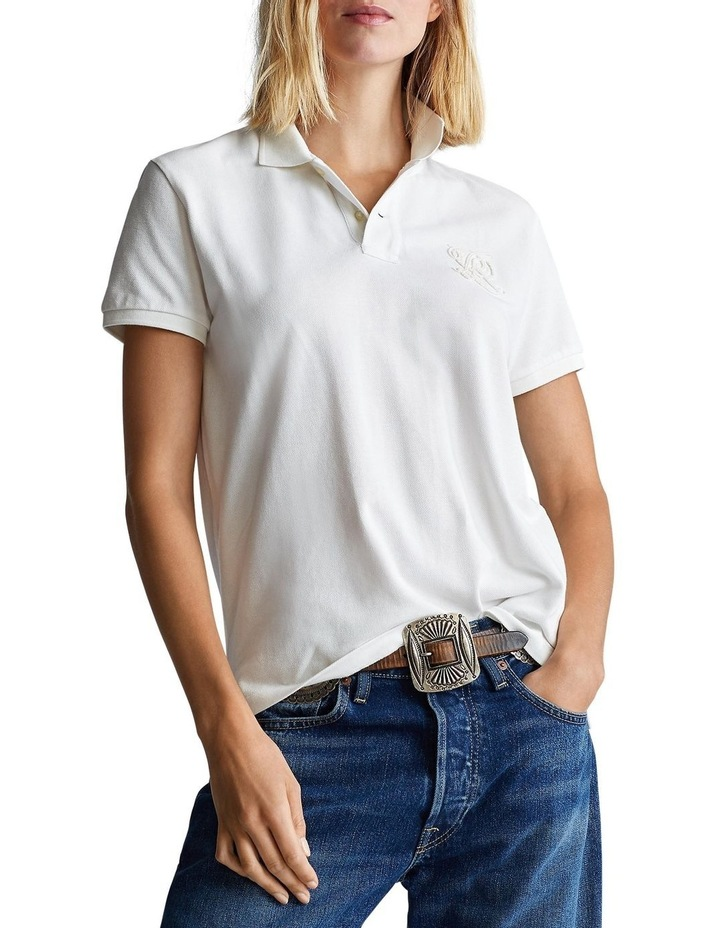 Classic Fit Beaded Polo Shirt image 1
