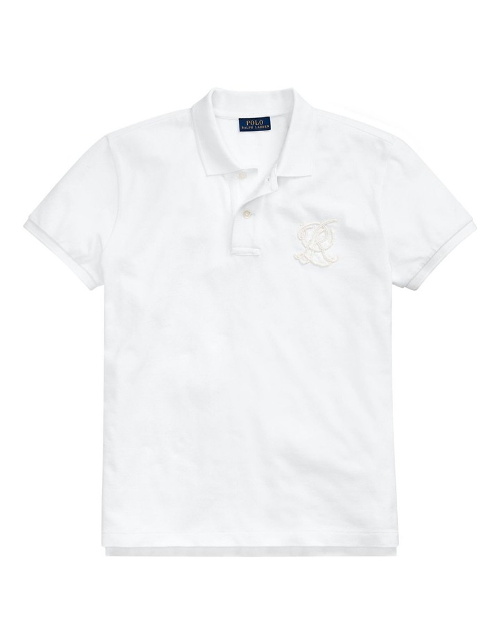 Classic Fit Beaded Polo Shirt image 4