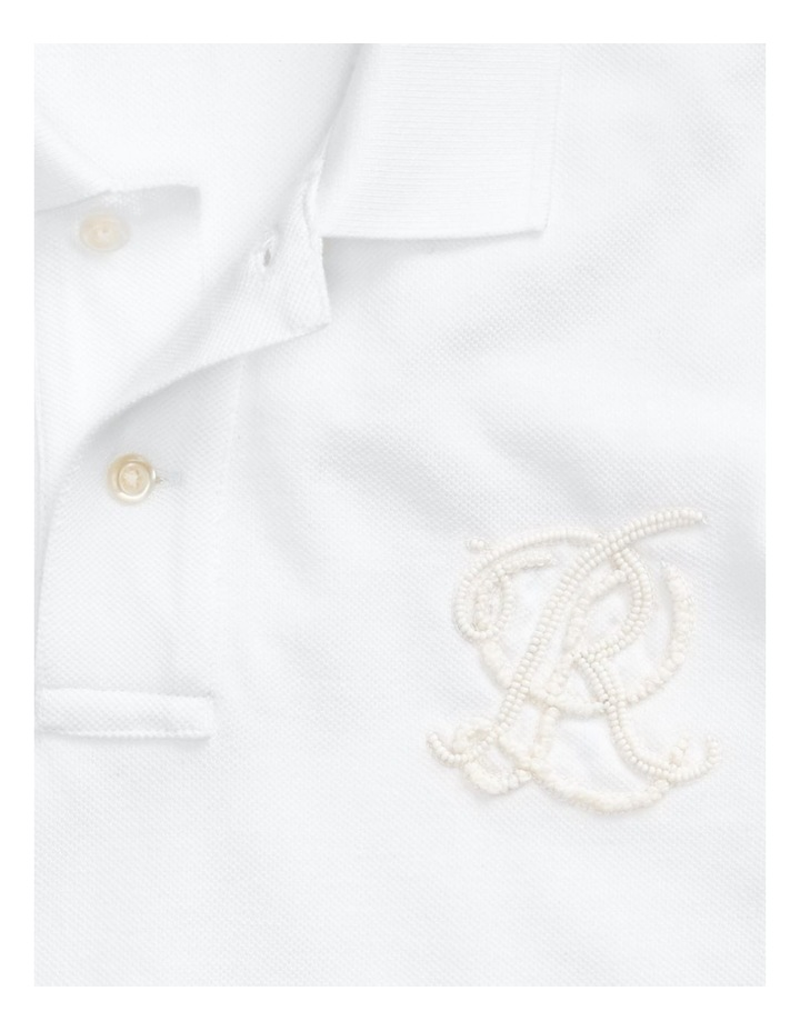 Classic Fit Beaded Polo Shirt image 5