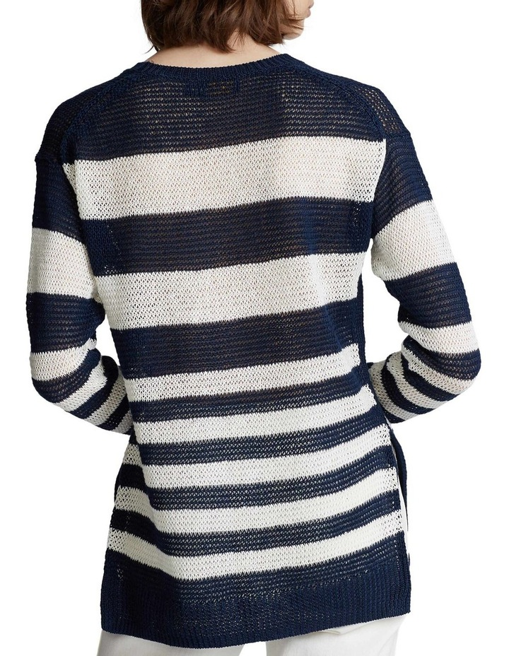 Striped Linen Sweater image 2