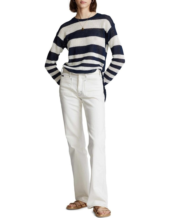 Striped Linen Sweater image 3