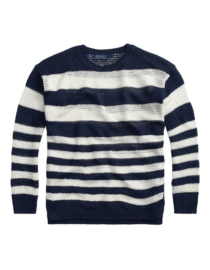 Striped Linen Sweater image 4