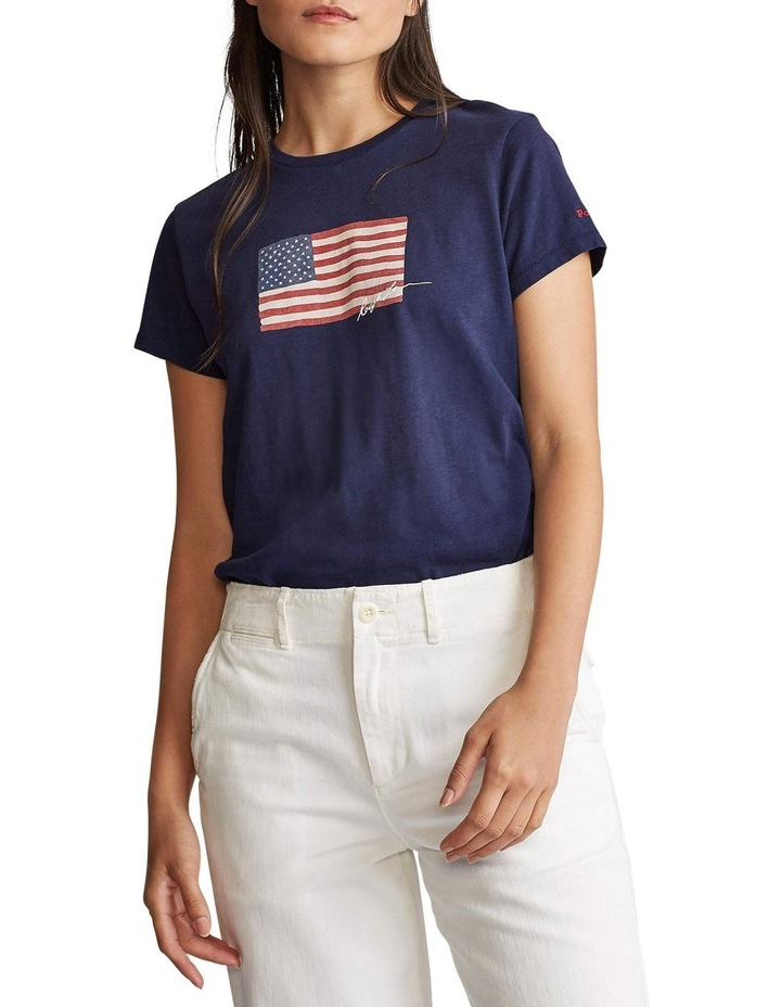 Flag Jersey Tee image 1