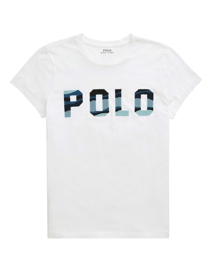Beaded Polo Tee image 4