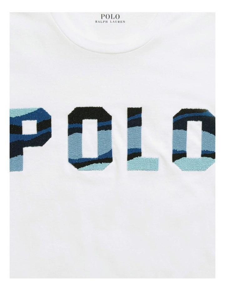 Beaded Polo Tee image 5