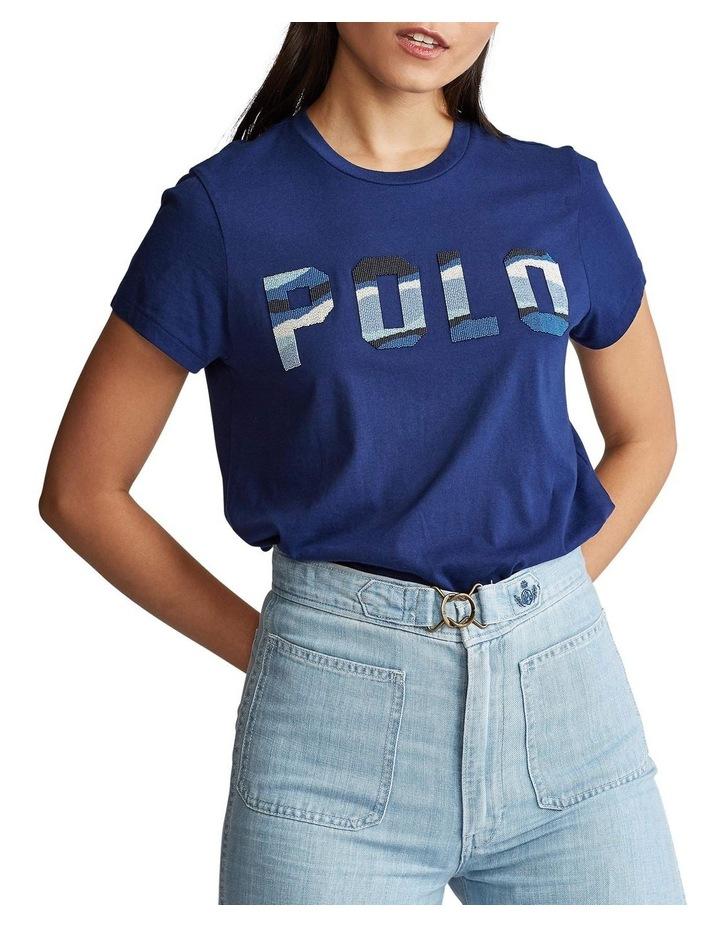 Beaded Polo Tee image 1