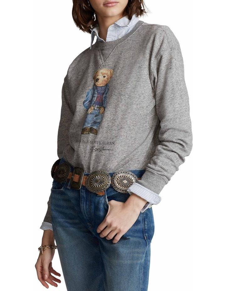 Polo Bear Fleece Sweatshirt image 1