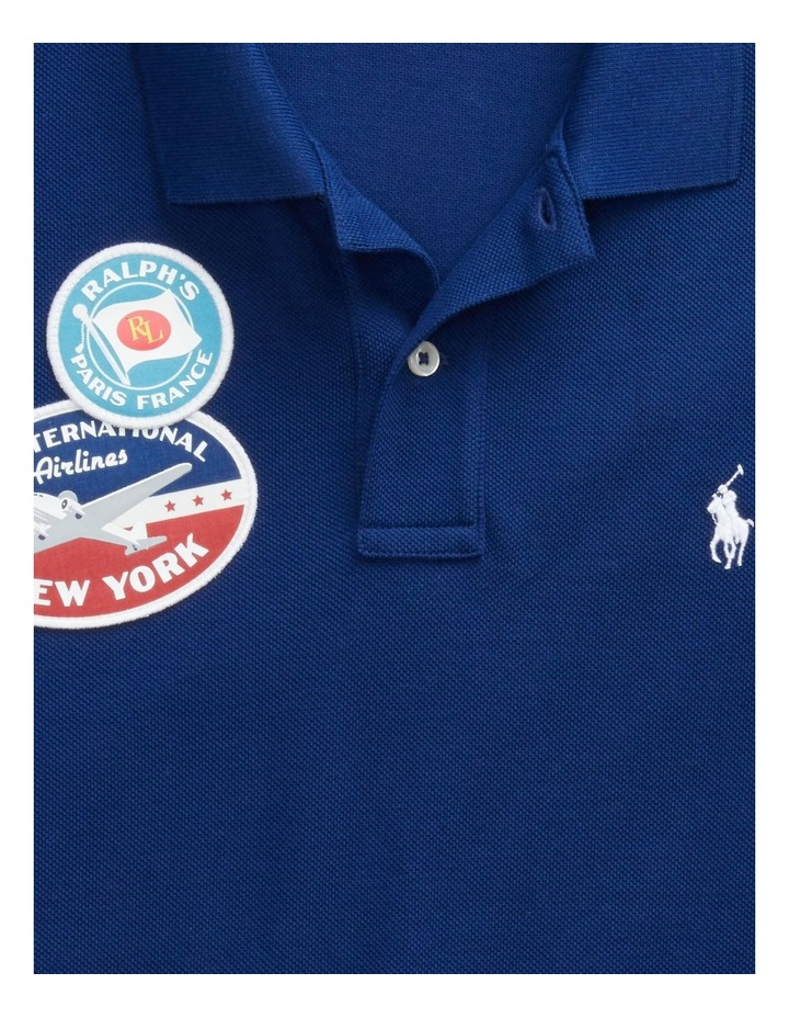 Classic Fit Patch Polo Shirt image 4