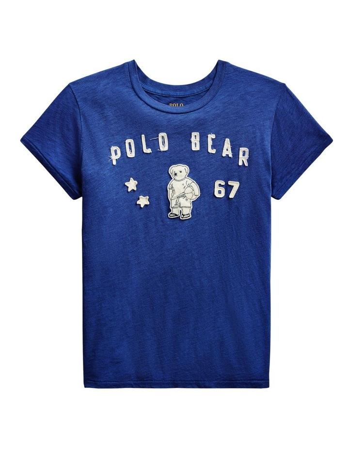 Polo Bear Patch Jersey Tee image 4