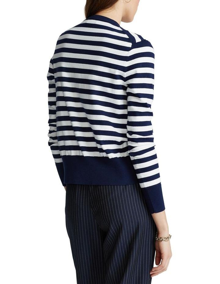 Striped Cotton Cardigan image 2