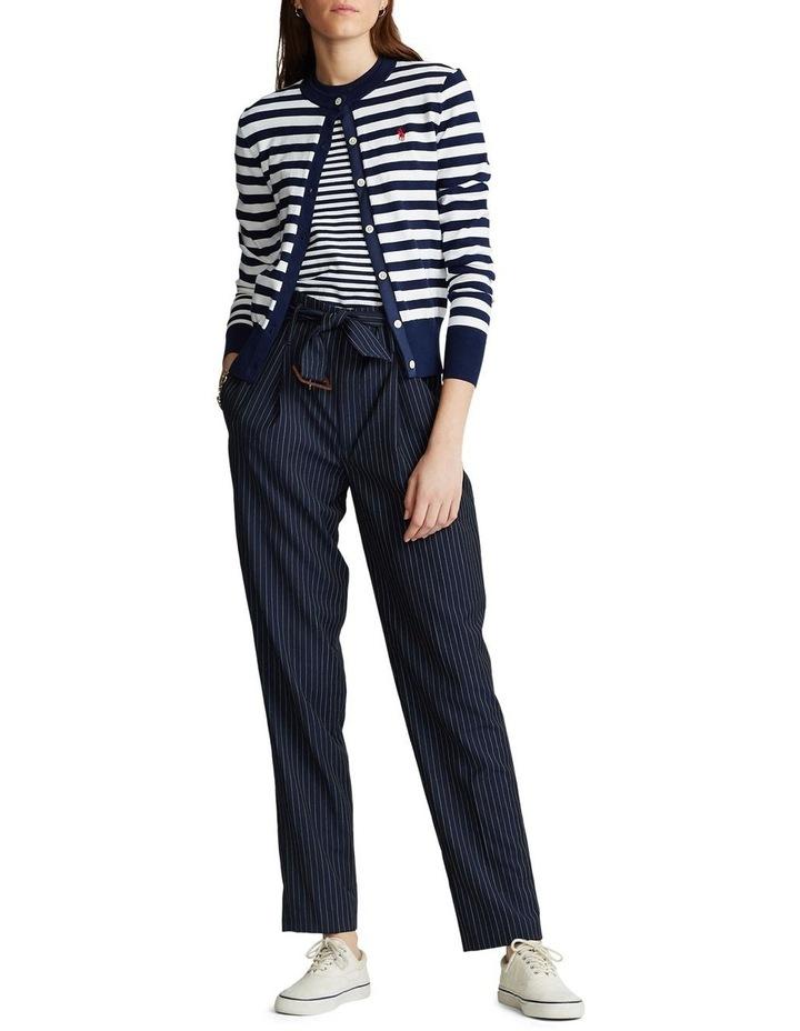 Striped Cotton Cardigan image 3