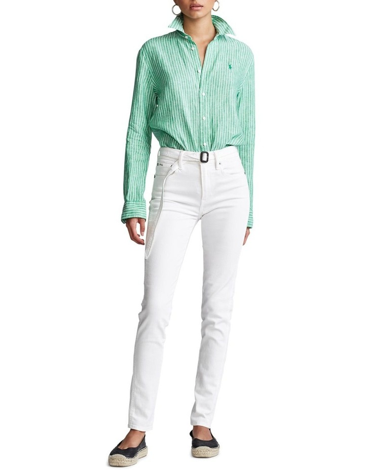 Relaxed Fit Linen Shirt image 3