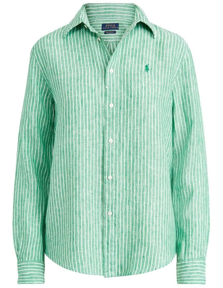 Relaxed Fit Linen Shirt image 4