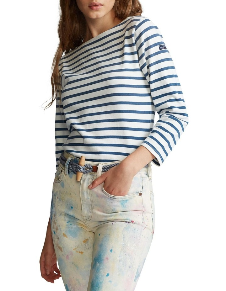 Striped Boatneck Shirt image 1