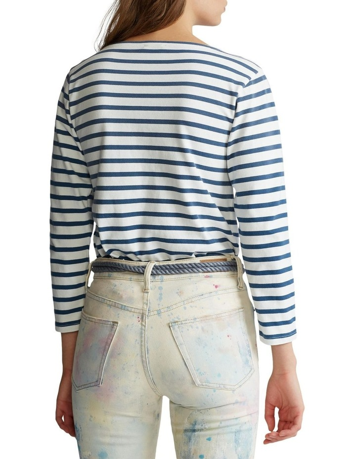 Striped Boatneck Shirt image 2