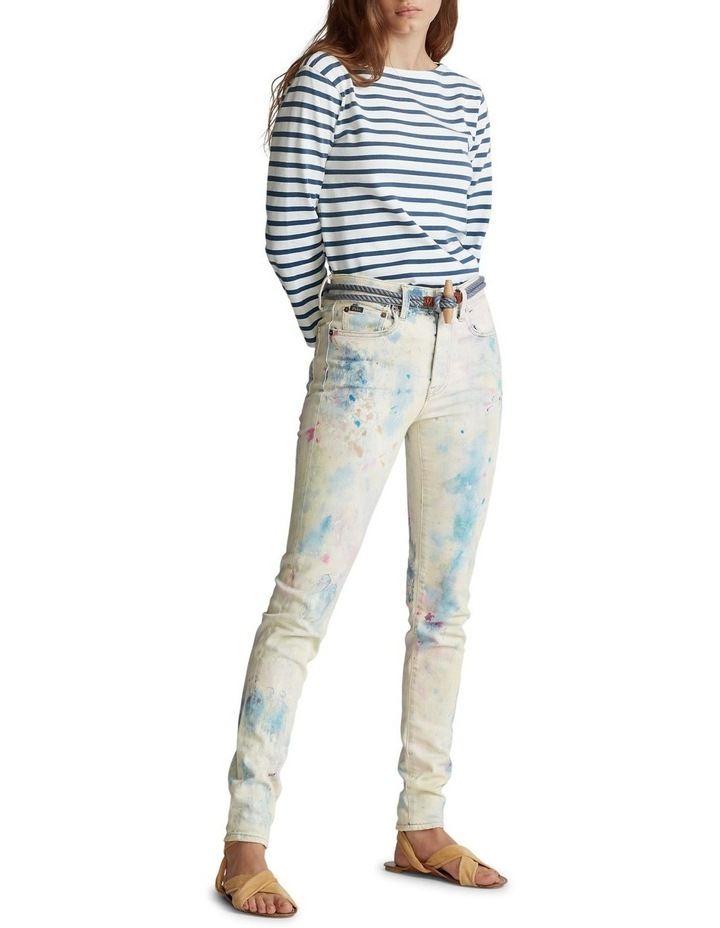 Striped Boatneck Shirt image 3
