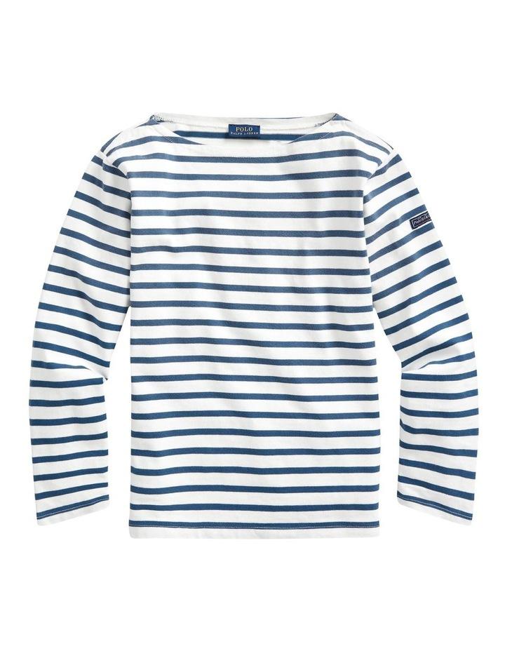 Striped Boatneck Shirt image 4