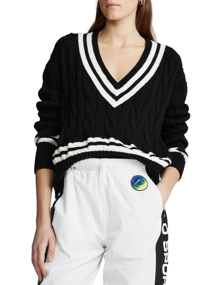 V-Neck Cricket Sweater image 1