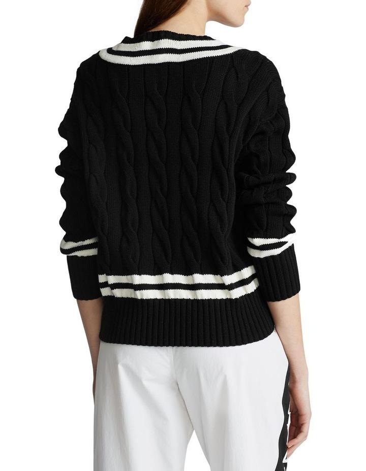 V-Neck Cricket Sweater image 2