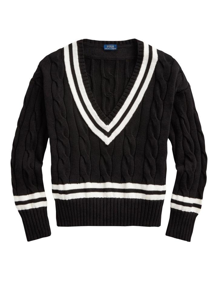V-Neck Cricket Sweater image 4