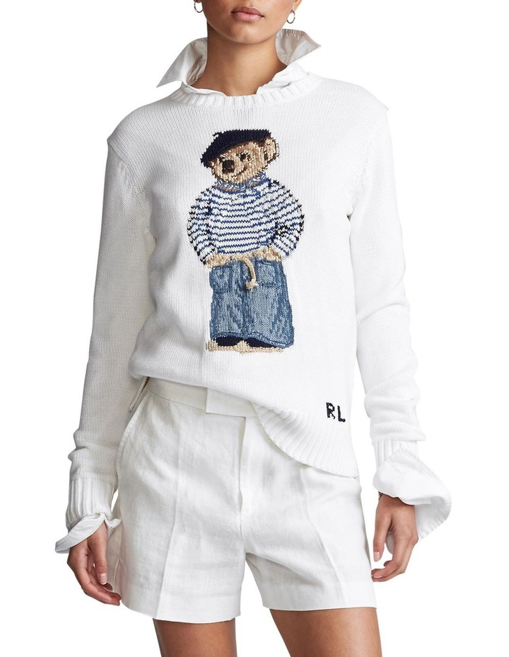 Polo Bear Cotton Sweater image 1
