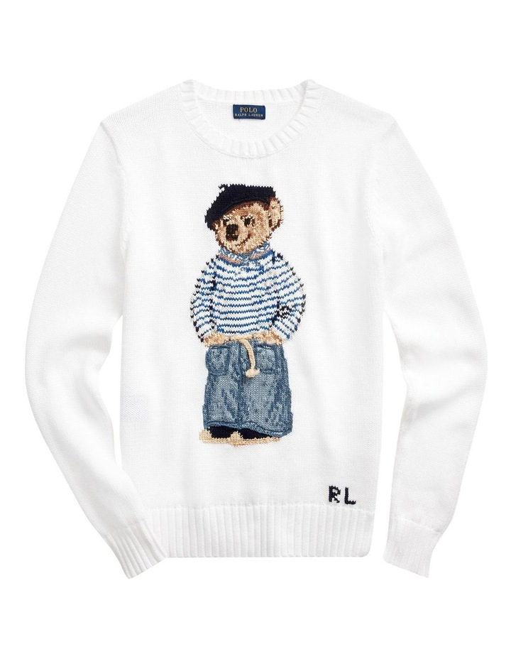 Polo Bear Cotton Sweater image 4
