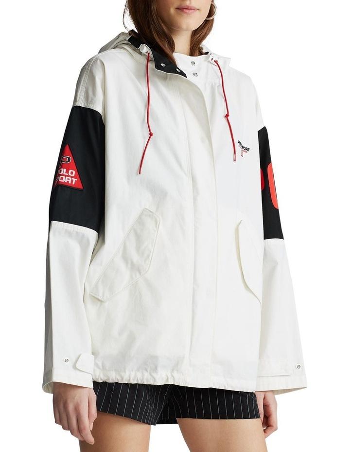 Cotton Hooded Jacket image 1