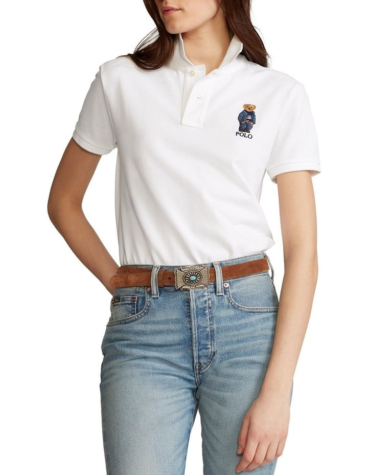 Classic Fit Bear Polo Shirt image 1