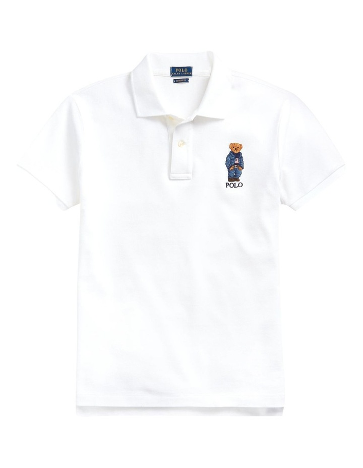 Classic Fit Bear Polo Shirt image 4