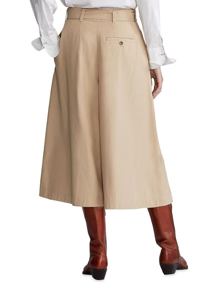 Twill Gaucho Paperbag Pant image 2
